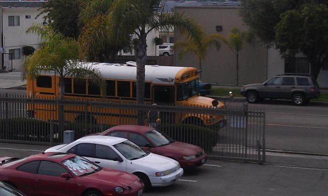 Sweetwater School Bus 'Side Trip' Caught on Cam