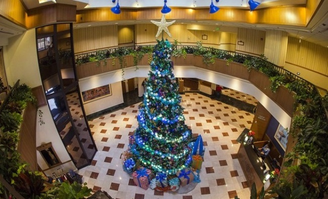 Disneyland Hotels: The Lobby Trees