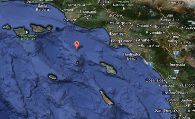 Two Minor Quakes Hit Off Southern California Coast