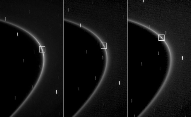 Moon Over Saturn: Rings Get More Bling