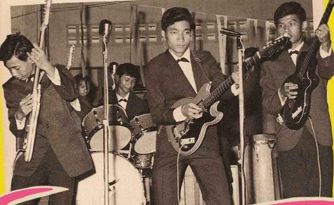 Before Communism Killed Cambodian Rock 'n' Roll