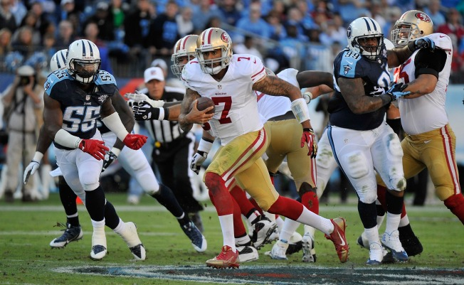 49ers Offense Grinds Down the Titans