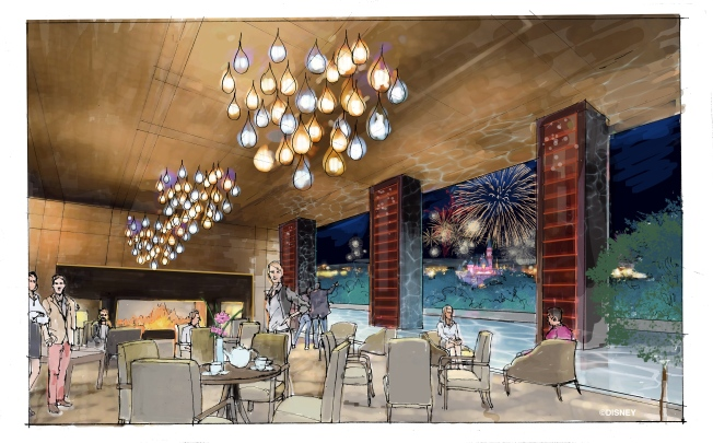 Disneyland Unveils Renderings of Planned Hotel