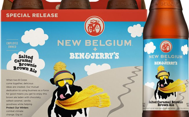Ben & Jerry's, Craft Brewer Team Up for Ice Cream-Flavored Beer