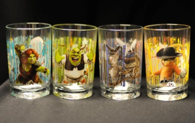 "McDonald's ""Shrek"" Glasses Recalled Over Paint Toxin"
