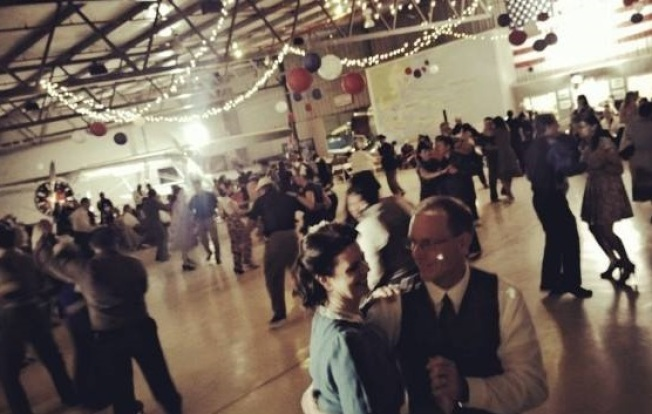Chino Swing: World War II Hangar Dance