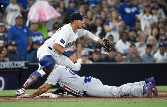 Padres Drop Third Game of the Set against Dodgers