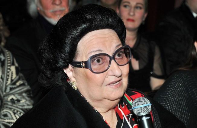 Spanish Opera Singer Montserrat Caballe Dies at 85