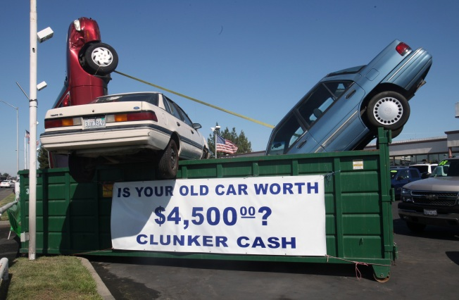 Weekend Rush for Clunker Closeout