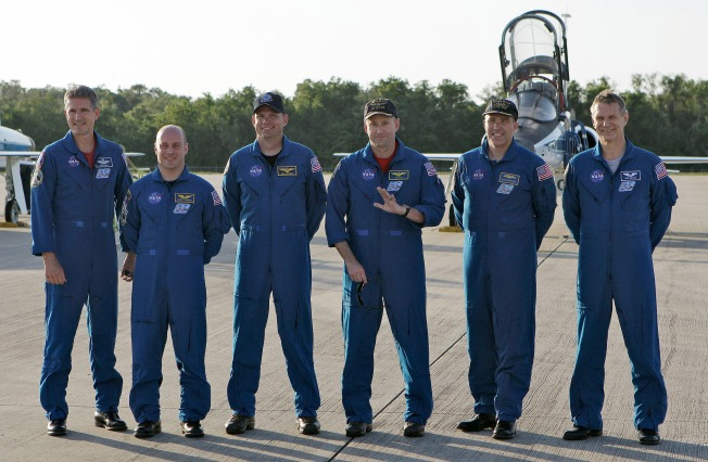 Astronauts Arrive for Atlantis' Last Liftoff