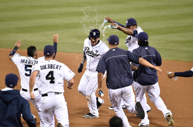 Padres Walk Off With A Win