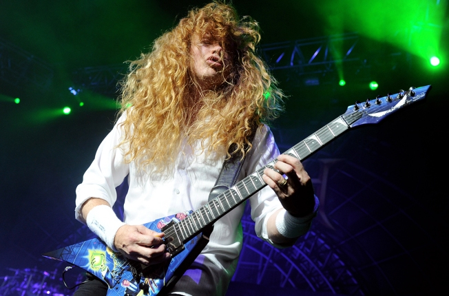 Megadeth Frontman Dave Mustaine Diagnosed With Cancer