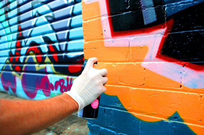 Tagger Caused $45K in Damage