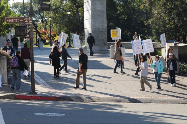 Twitter Generation on Strike at UC Schools