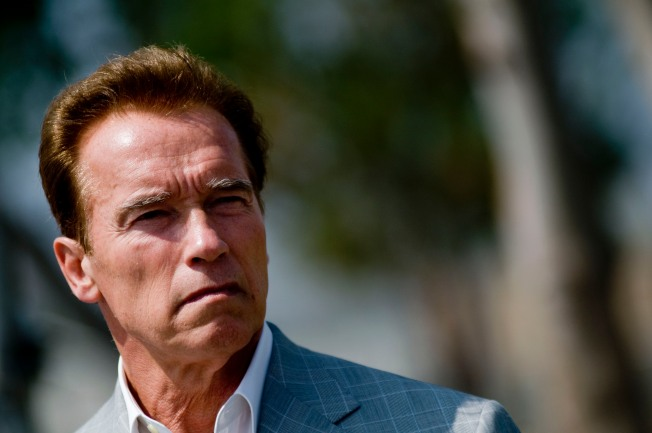 Arnold's Does About Face on Veterans Bill