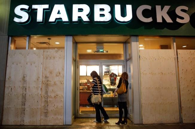 Horton Plaza Starbucks Employee Scalded