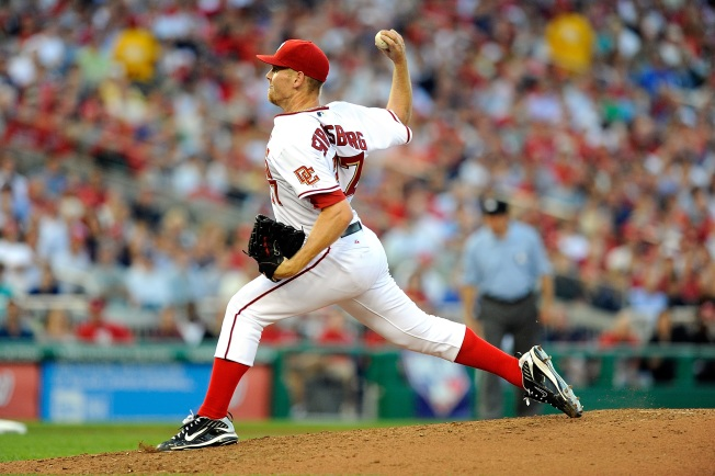 Strasburg Dazzles in Debut