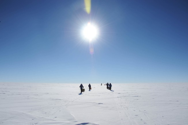 Health of Antarctic Ice Gets Scientific Checkup
