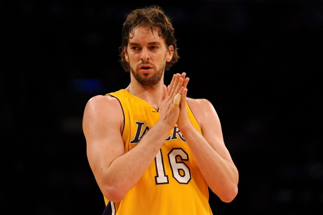 Lakers Extend Gasol's Deal: It's All About The Titles