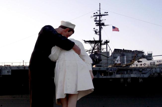 'Unconditional Surrender' Statue Has Conditions: Port