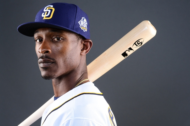 37d1532ee Food for Hope. Getty Images. Outfielder Melvin Upton Jr.  2 of the San Diego  ...