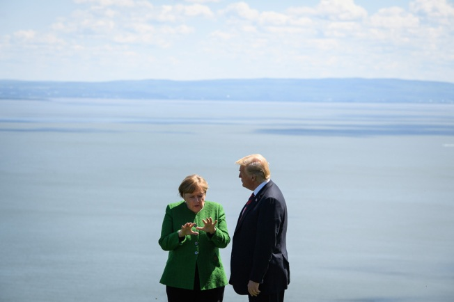 Merkel Says Climate Change Is 'a Fact,' Laments US Stance