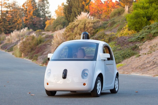 "Google Unveils ""Fully-Functional"" Self-Driving Car"