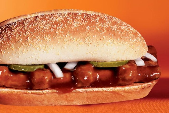 McRib Devotees Seek, Find Sandwich Online