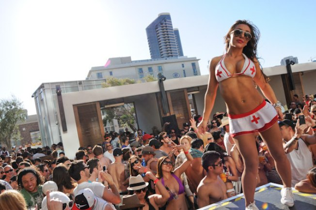 Intervention Pool Parties Return to Hard Rock Hotel