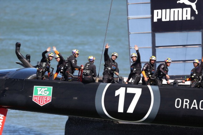 Skipper Spithill Returns to America's Cup Champ Oracle