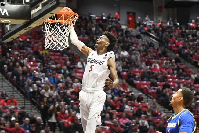 San Diego State Basketball Star Jalen McDaniels Is Going Pro