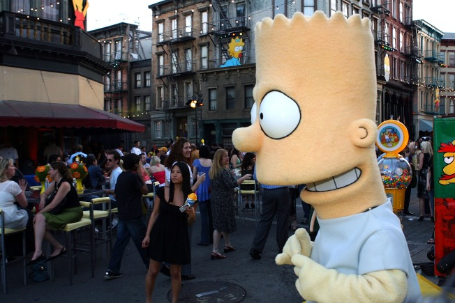 Is Bart Simpson a Barker for Scientology?