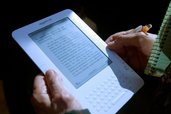 E-Books Are Outselling Paper Books