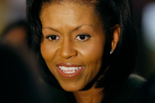 Michelle Obama Guides First Wives' Club