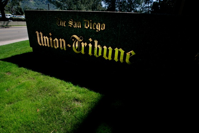 San Diego Union-Tribune Sold