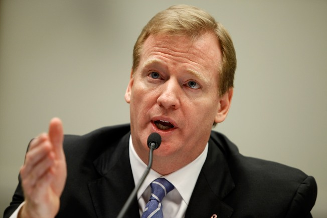 Goodell Sounds Like Tobacco Executive Before Congress