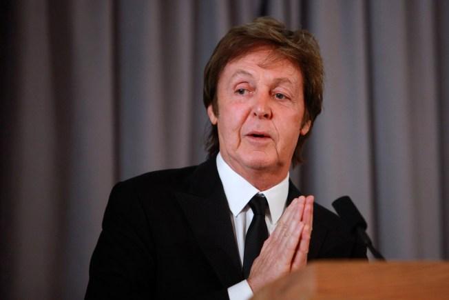 "Paul McCartney: Lay Off ""Great Guy"" Obama"