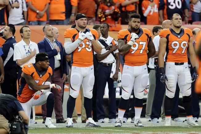 Brandon Marshall Loses Endorsement Deal Over Anthem Kneel