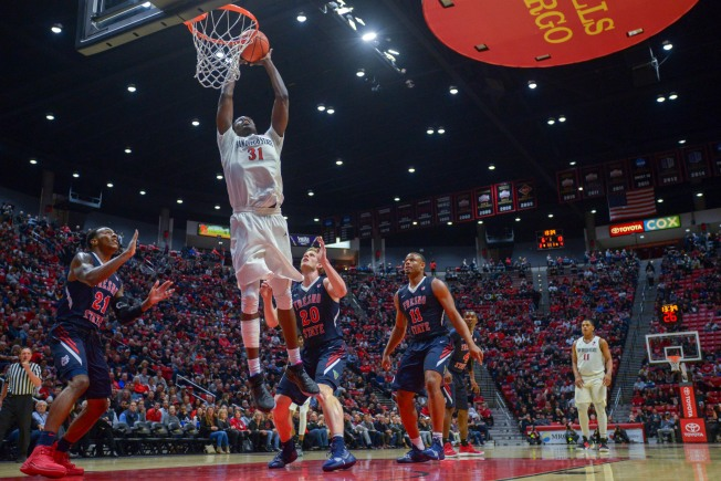Marquee Road Trips Highlight Aztec Non-Conference Schedule