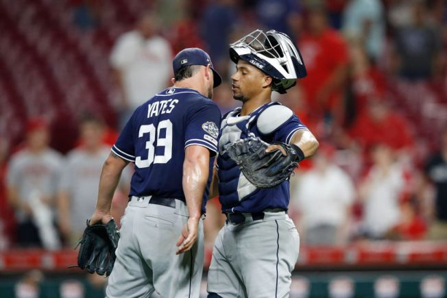 Yates Escapes Trouble, Padres Win Third Straight