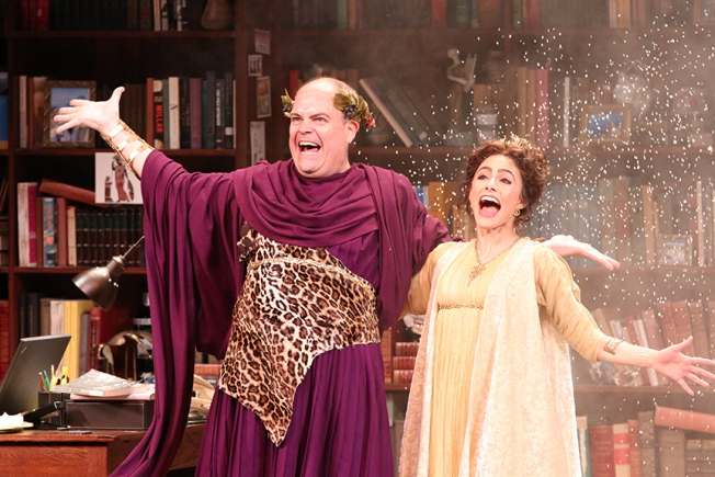 """Ken Ludwig's New Globe Play """"Gods of Comedy"""" Taps Into the Essence of Comedy"""