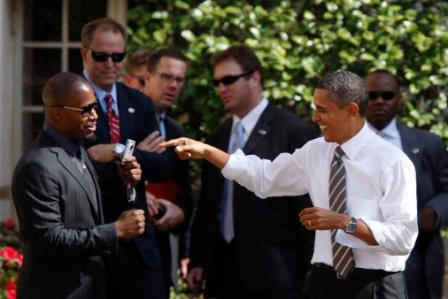 Obama Rallies Voters at USC