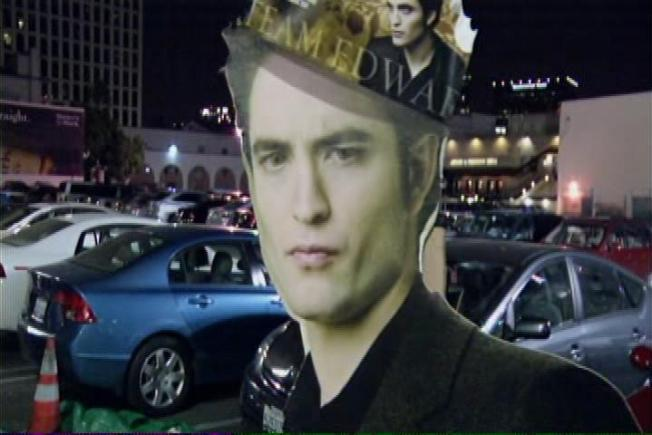 Twilight Fans Descend on Westwood