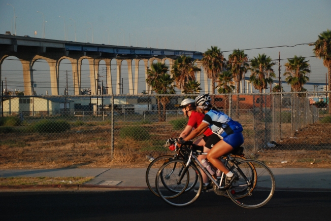 Scenic Ride: 9th Annual Bike the Bay Heads to Coronado Bay Bridge