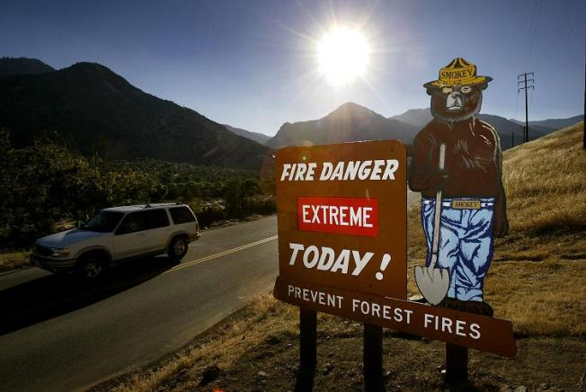 Fire Warning Issued for Southern California