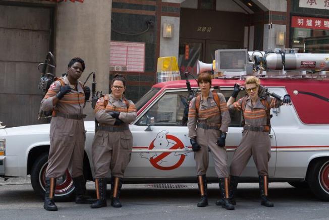 'Ghostbusters' Cast Surprises Children at Boston Hospital