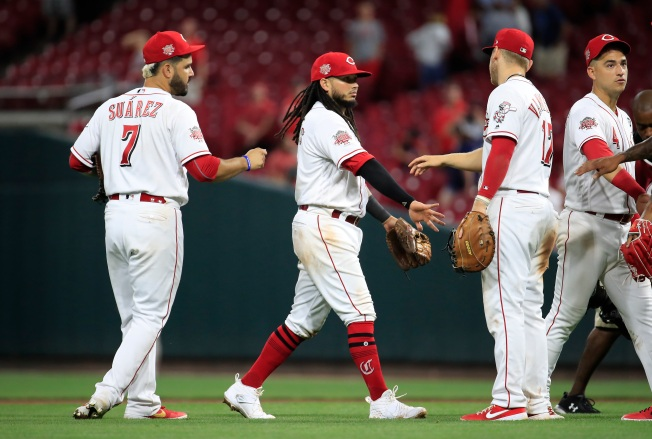 Galvis Homers, Gray Deals as Reds Beat Padres