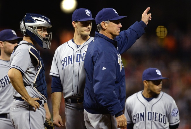 Padres Outslugged in San Francisco