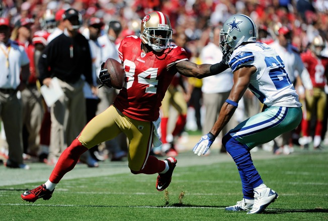 49ers Lose Joshua Morgan to Broken Leg, Surgery