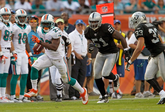 Raiders Lose a Stinker in Miami
